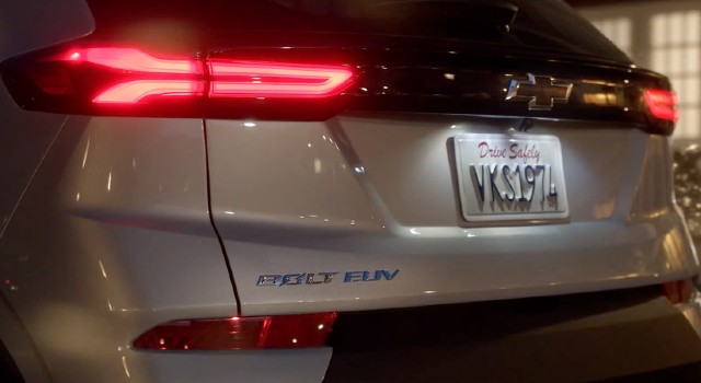 2022 Chevy Bolt EUV design