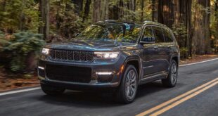 2022 Jeep Grand Cherokee Hybrid redesign