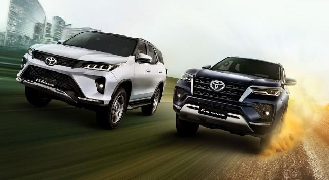 2022 Toyota Fortuner Hybrid facelift