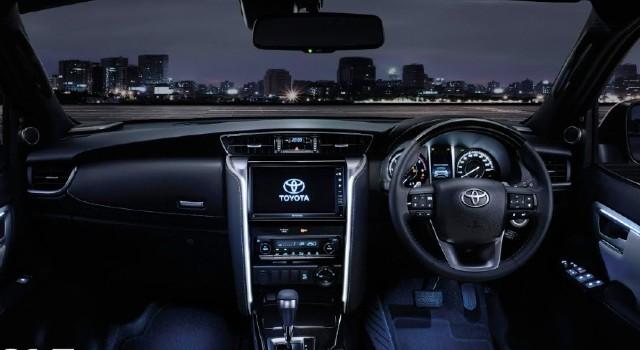 2022 Toyota Fortuner Hybrid interior