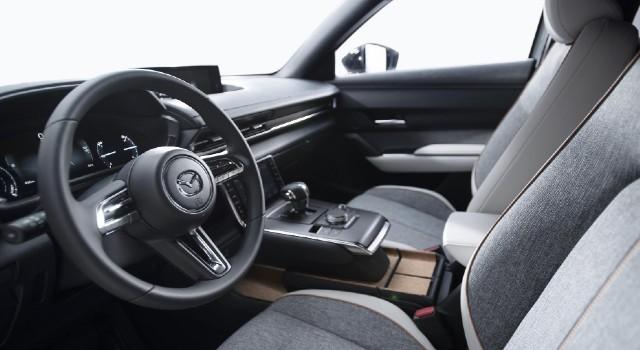 2022 Mazda MX-30 interior