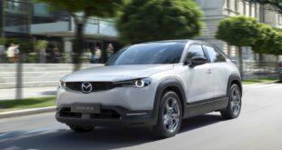 2022 Mazda MX-30 release date