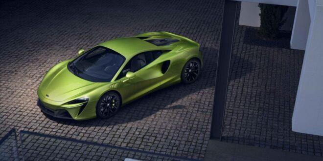 2022 McLaren Artura price
