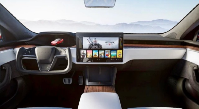 2022 Tesla Model X interior
