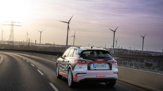 2022 Audi Q4 e-tron release date