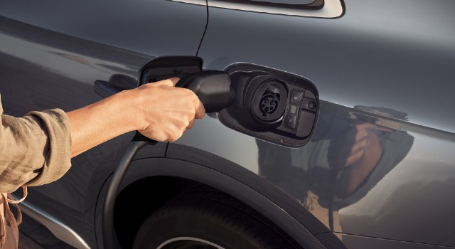 2022 Audi Q5 Plug-In Hybrid charging