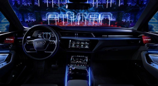 2022 Audi Q6 e-tron interior