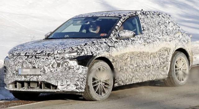 2022 Audi Q6 e-tron spy shots