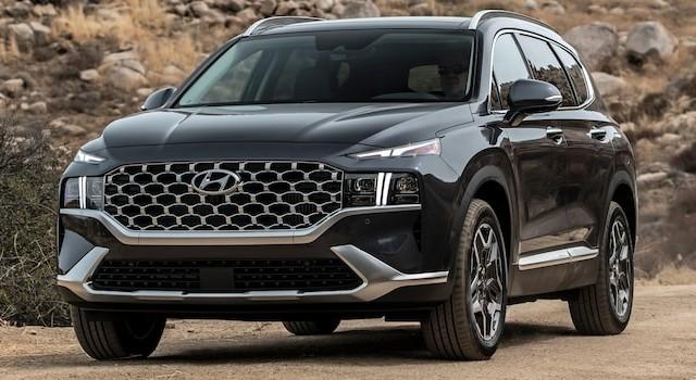 2022 Hyundai Santa Fe Plug-In Hybrid redesign
