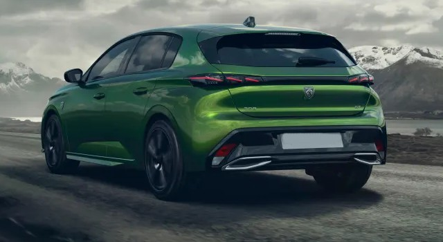 2022 Peugeot 308 redesign