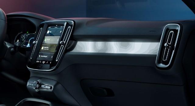 2022 Volvo C40 Recharge interior