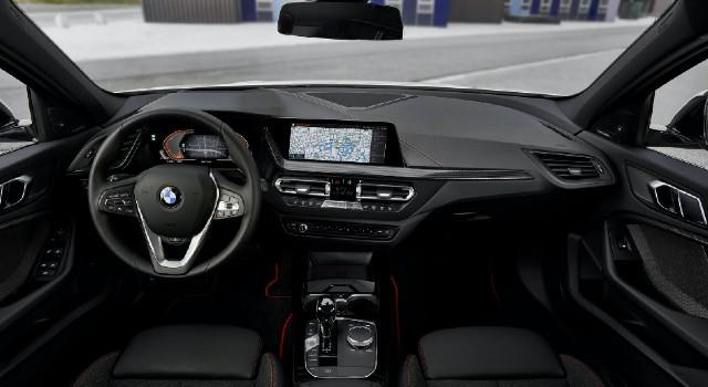 2022 BMW iX1 interior
