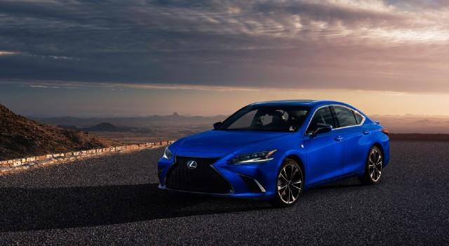 2022 Lexus ES redesign