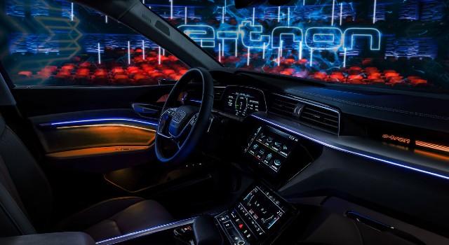 2022 Audi A6 e-tron interior