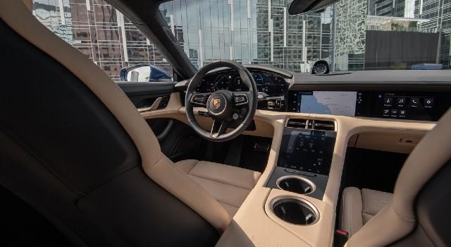 2022 Porsche Taycan Turbo Cross Turismo interior