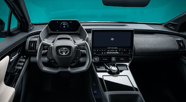 2022 Subaru Solterra interior