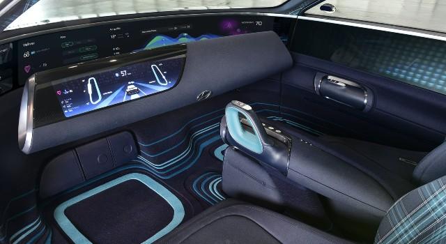 2022 Hyundai Ioniq 6 interior