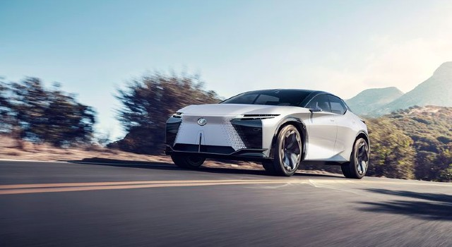 2022 Lexus EV concept