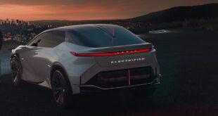 2022 Lexus EV release date