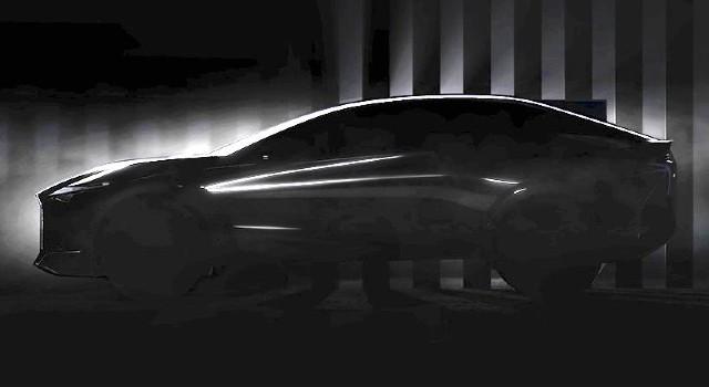 2022 Lexus EV teaser