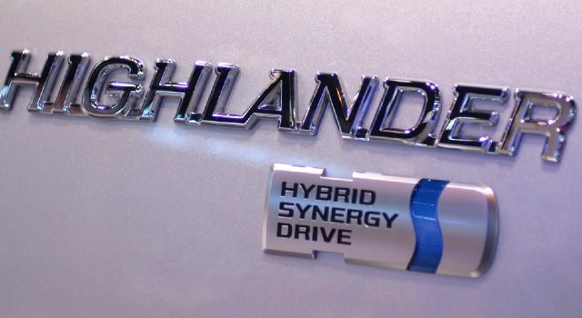 2022 Toyota Highlander Hybrid mpg
